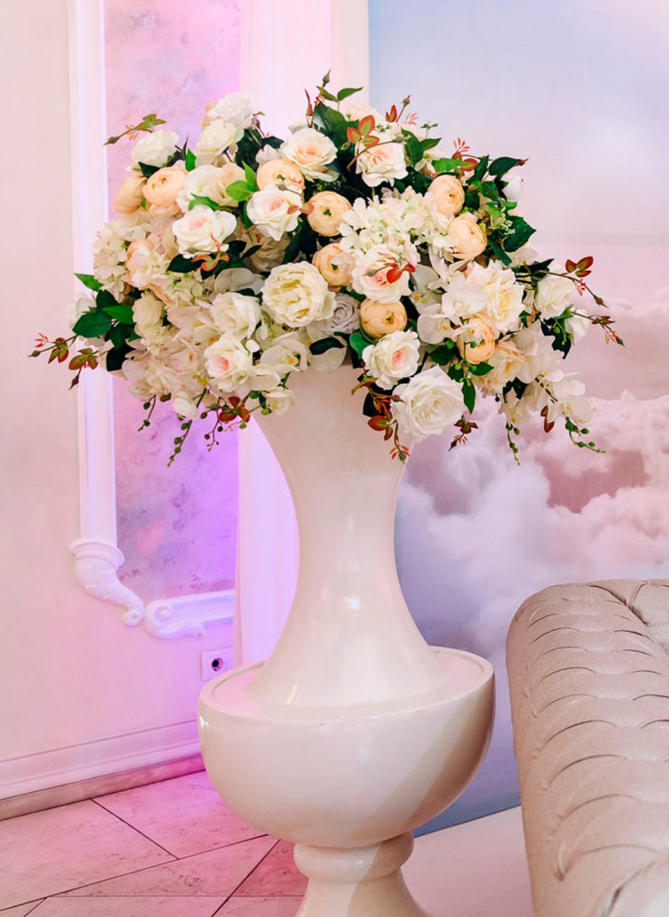 Декоративные цветы, композиции