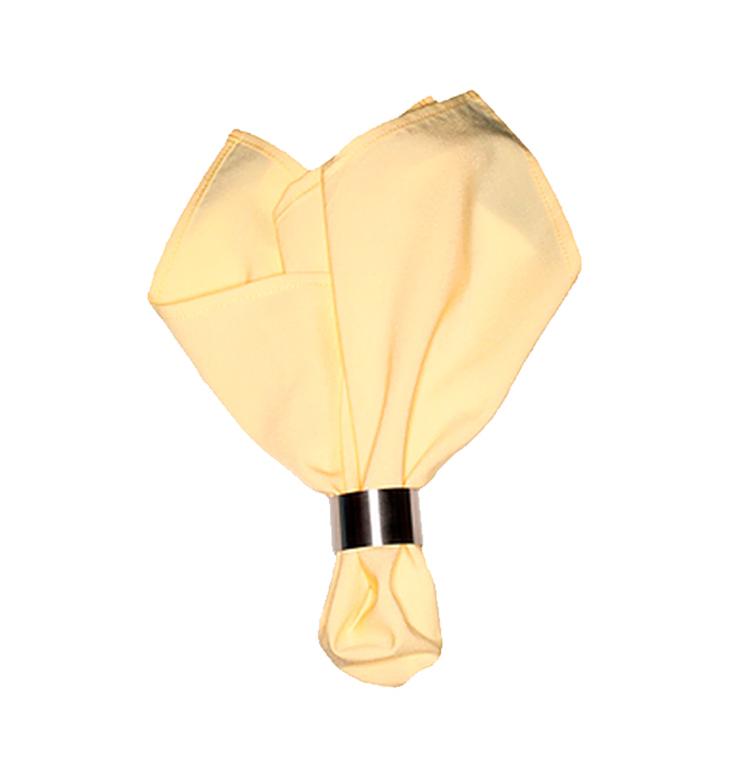 Салфетка желтый матовый