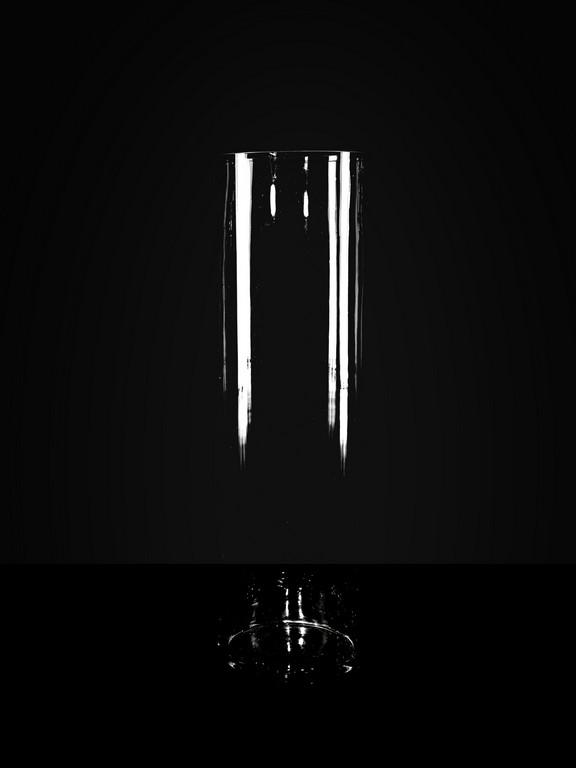 Ваза для насыпных свечей h 68 см, d16см.
