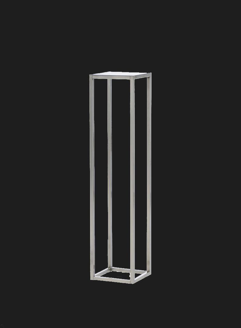 Кованая прямоугольная стойка 80/100/120/150 см.