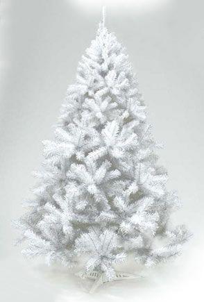 Ель декоративная белая 225 см