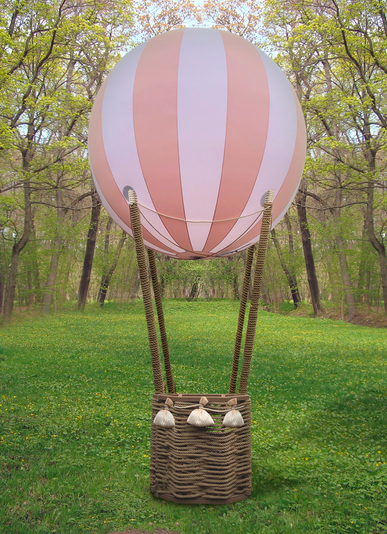 Фотозона с воздушным шаром