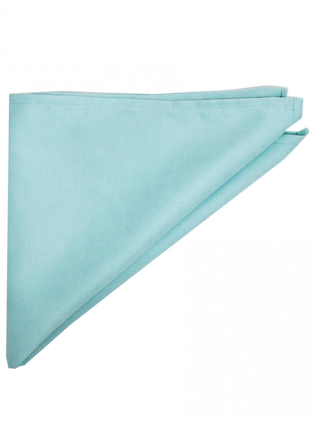 Салфетка мятно-голубая портьера фактурная