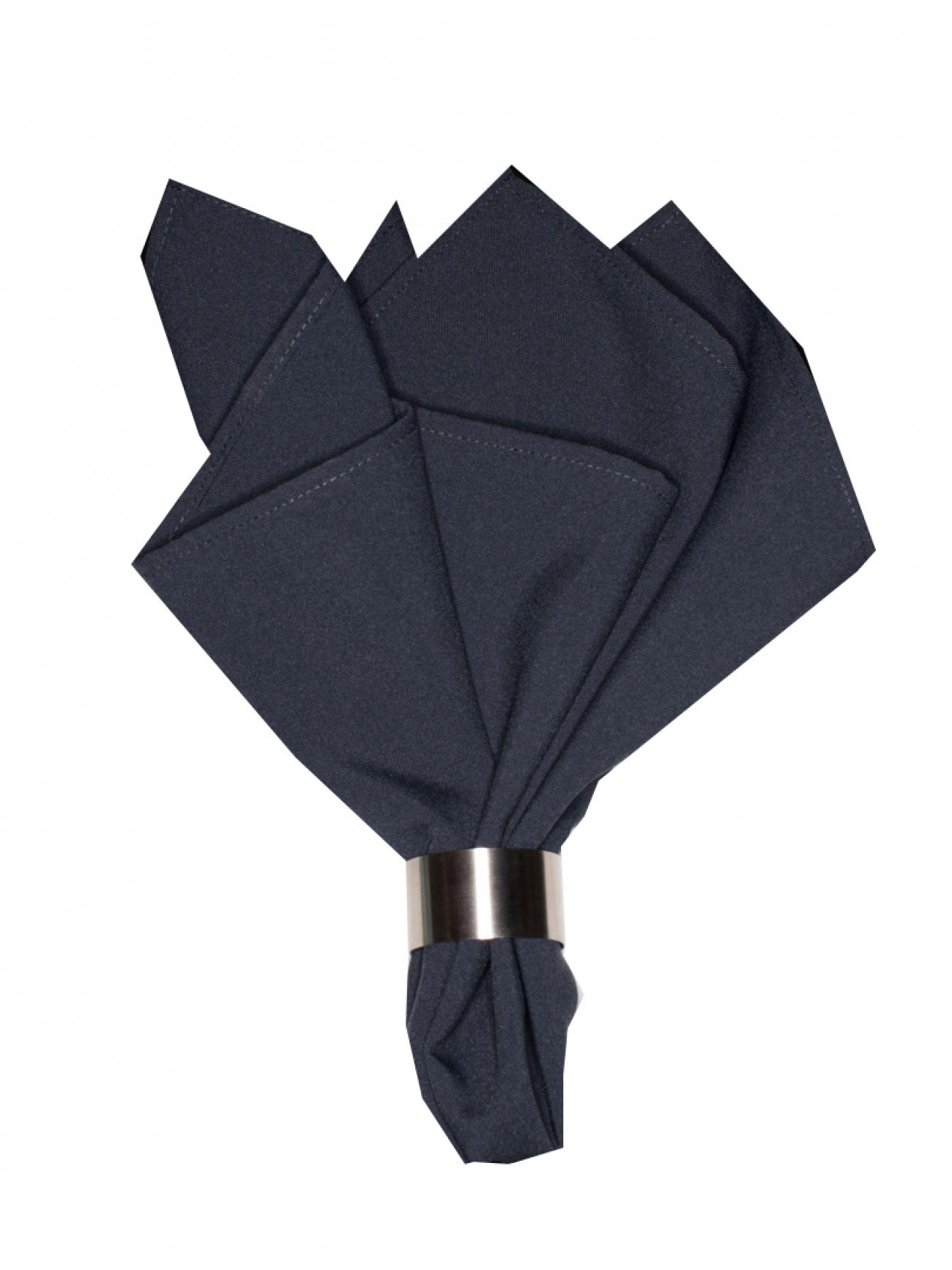 Салфетка темно-серый габардин
