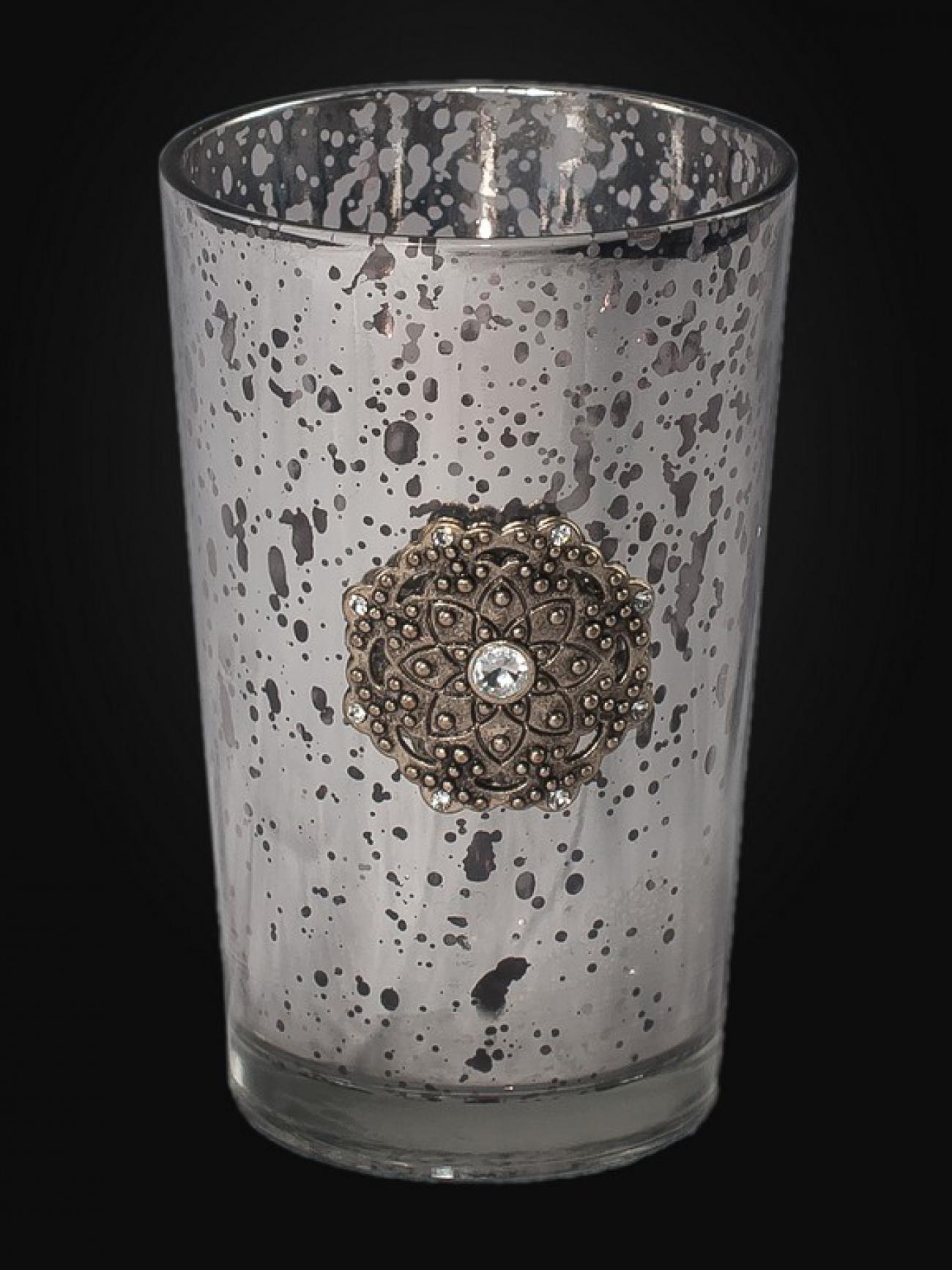 Подсвечник-стакан с платиной