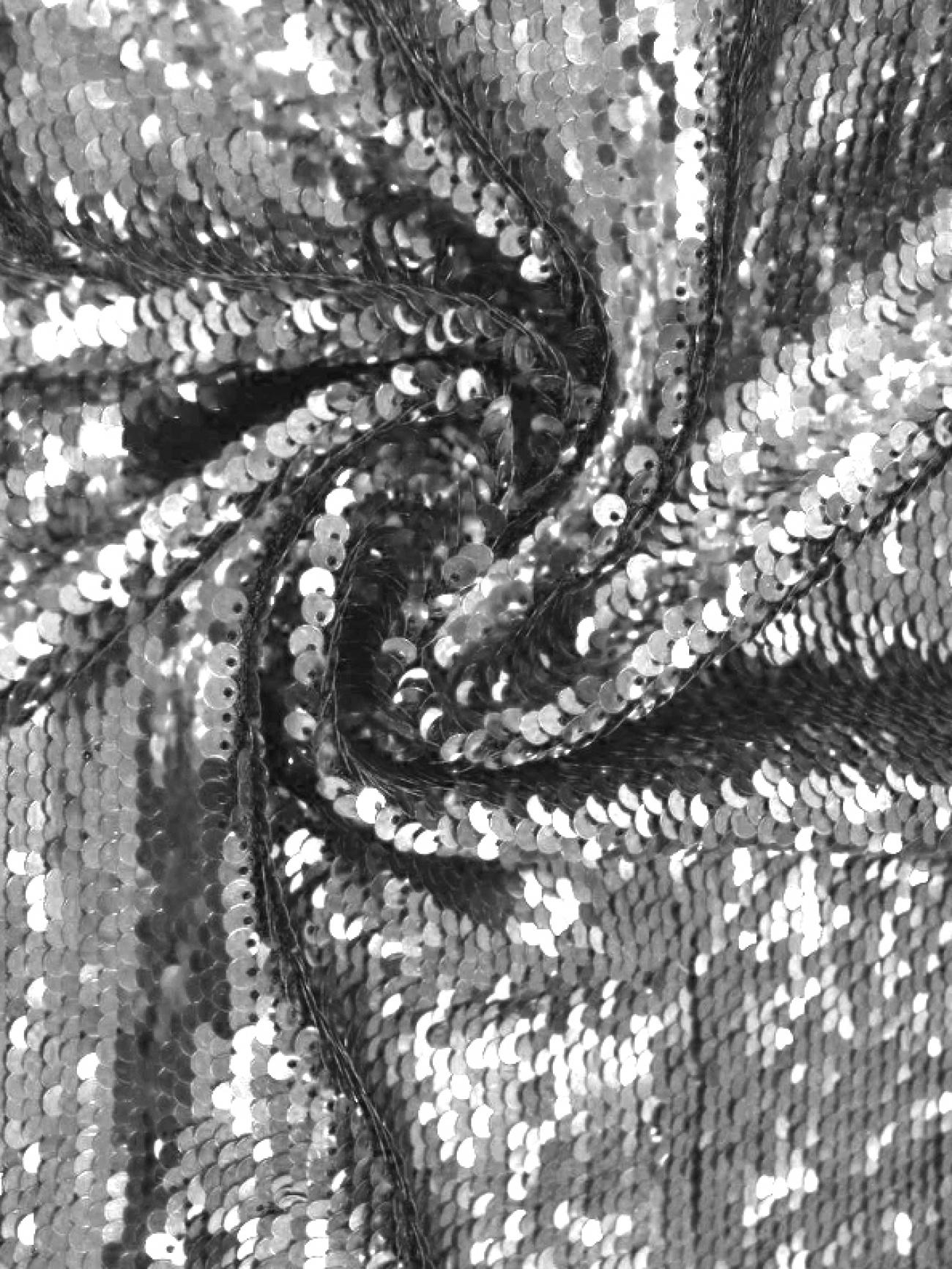 Скатерть президиумная серебряные пайетки