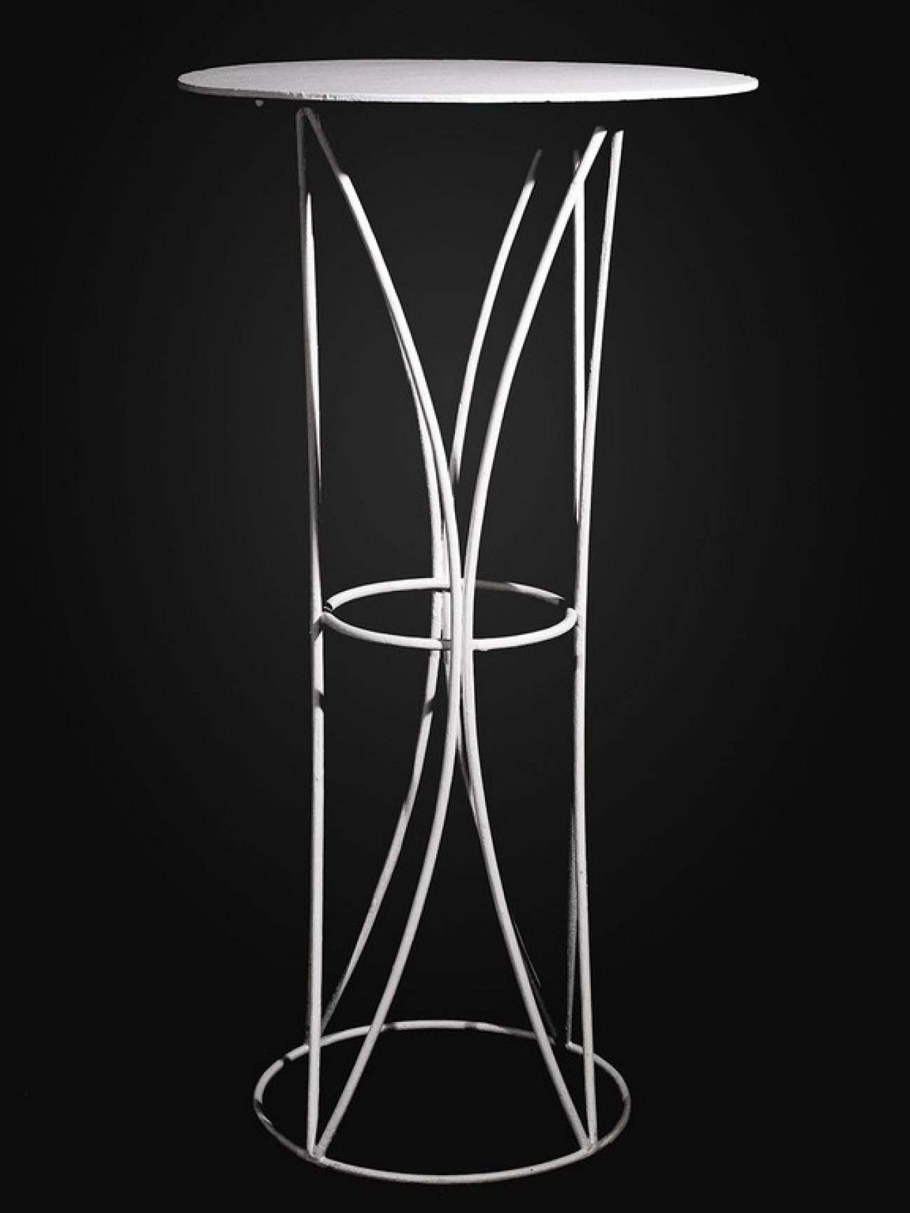 Столик регистратора металлический