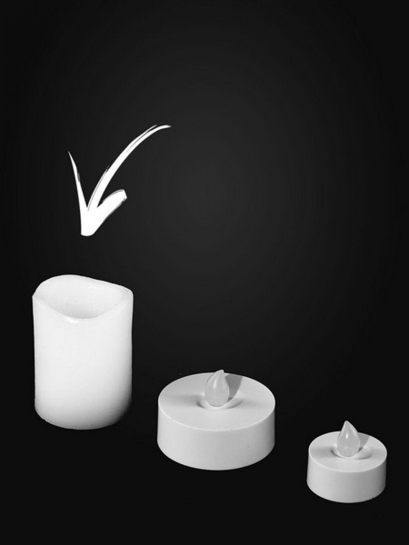 Электрическая свеча 4'