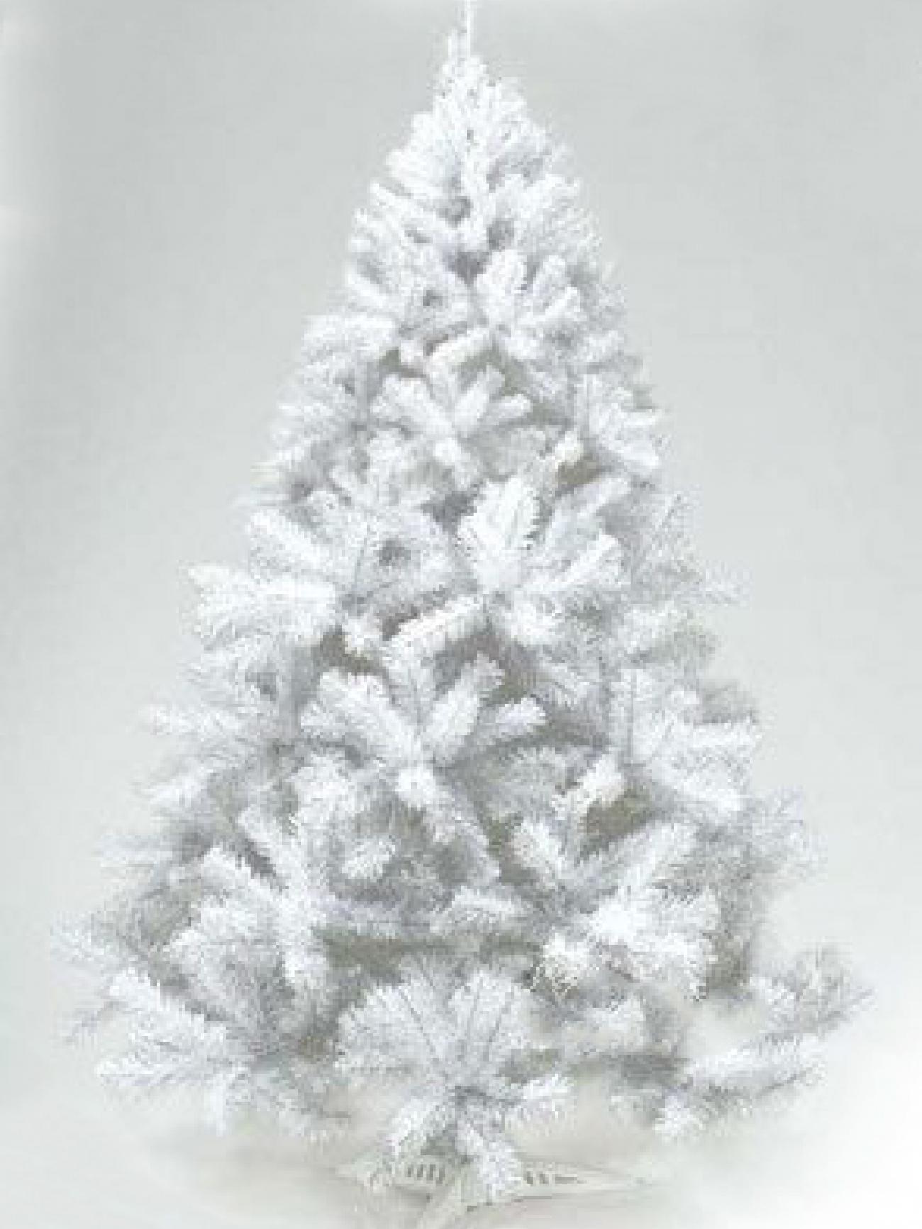 Ель декоративная белая 120 cм