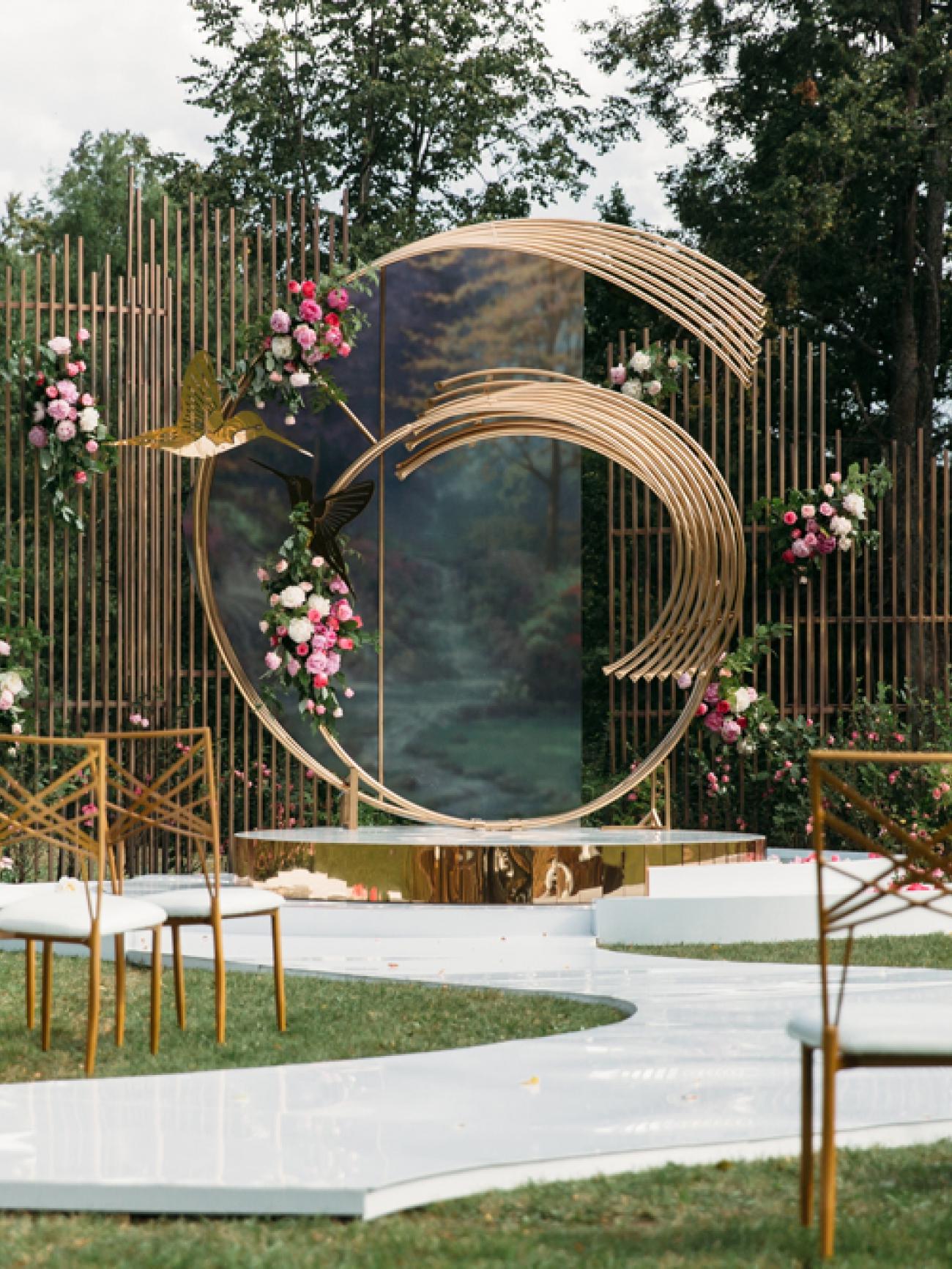 Арка круглая геометрическая