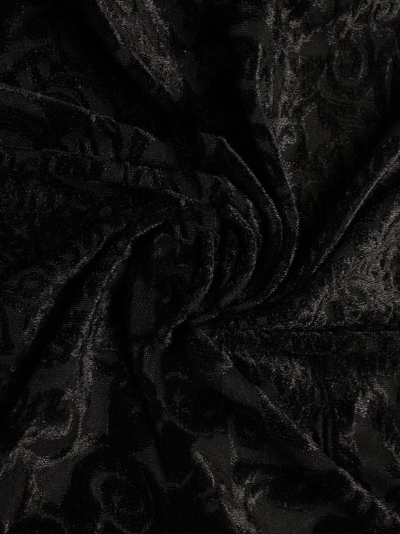 Скатерть президиумная черный бархат